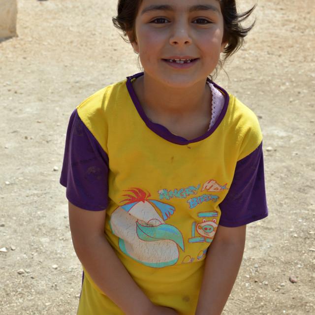 """Syrian girl 3"" stock image"