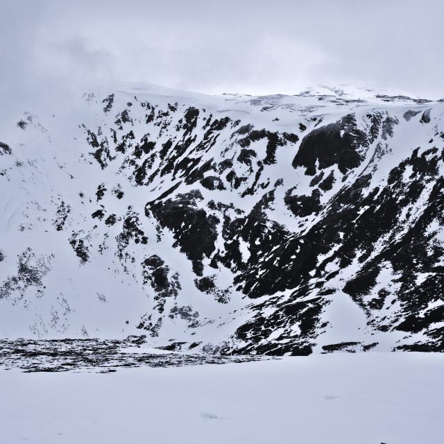 """Scotland in Winter"" stock image"