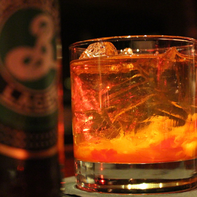 """""""Old Fashioned - NYC 2014"""" stock image"""