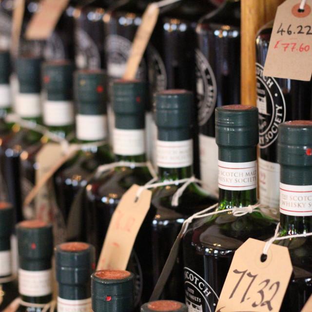 """Scotch Whisky Pricing"" stock image"