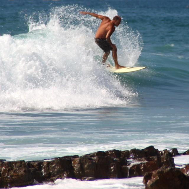 """California surfer"" stock image"