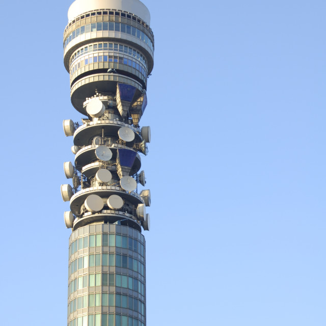"""Telecom Tower"" stock image"