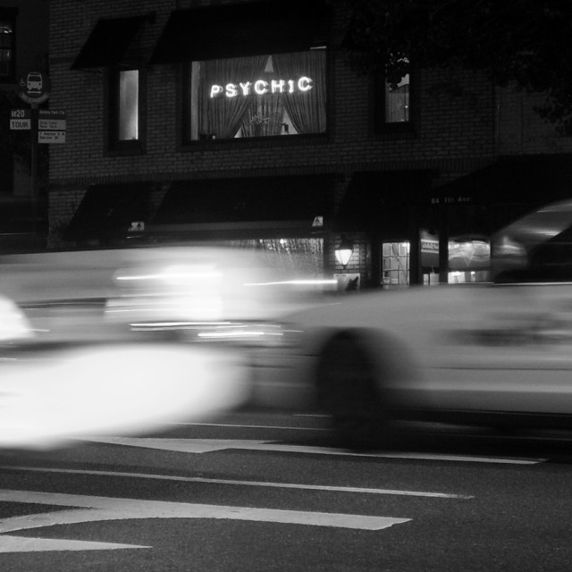 """Greenwich Village Psychic"" stock image"