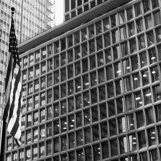 """Midtown Offices NYC"" stock image"