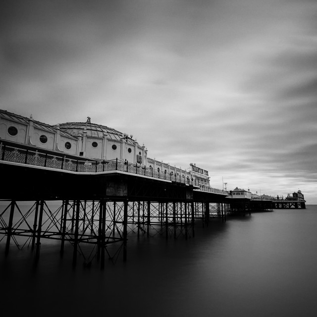 """Brighton Palace Pier"" stock image"