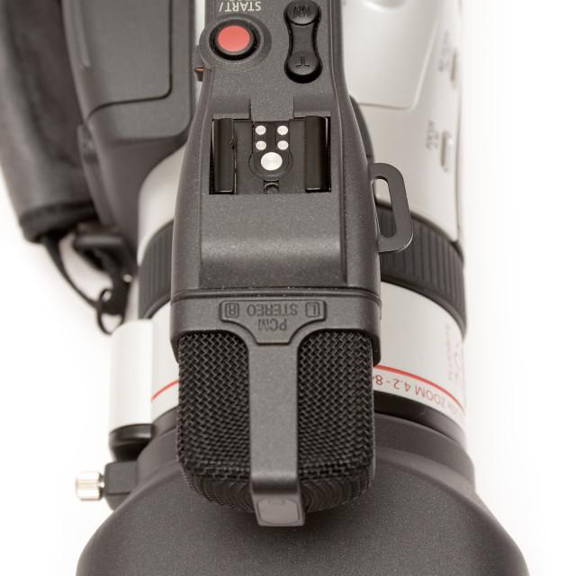 """Video Camera"" stock image"