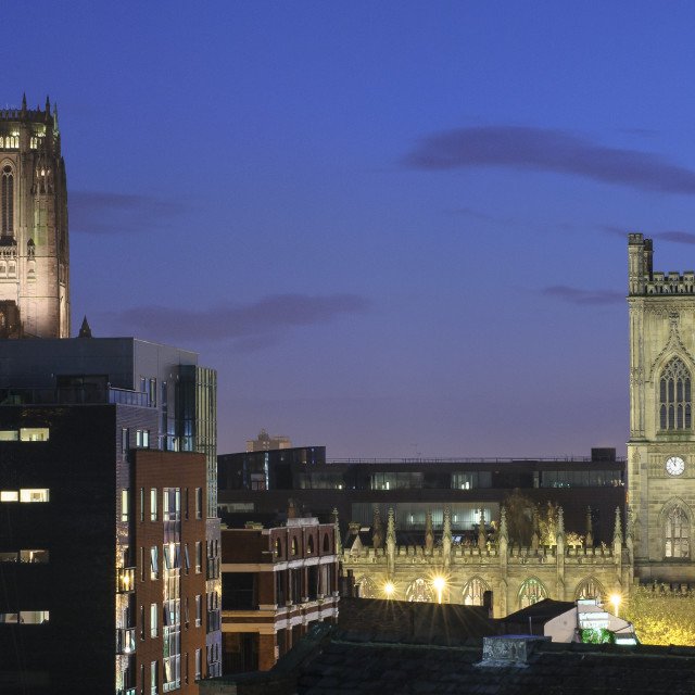 """St Luke's & Anglican Cathedral"" stock image"