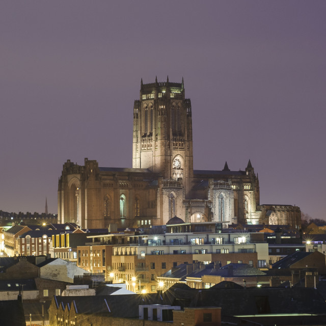 """Anglican Cathedral"" stock image"