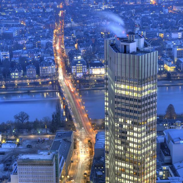 """Frankfurt"" stock image"