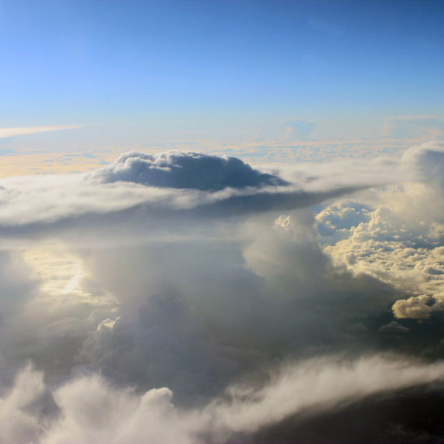 """""""Above The Clouds 2"""" stock image"""