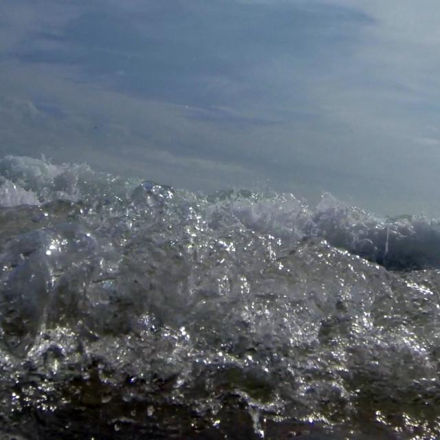 """""""Ocean Waves 2"""" stock image"""