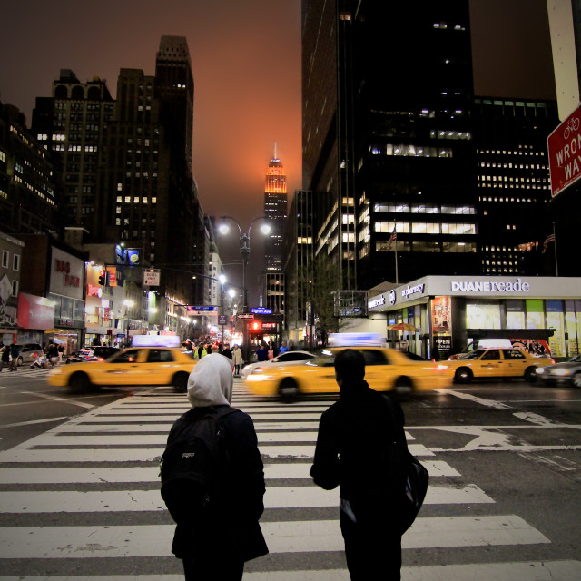 """Zebra Crossing New York City"" stock image"