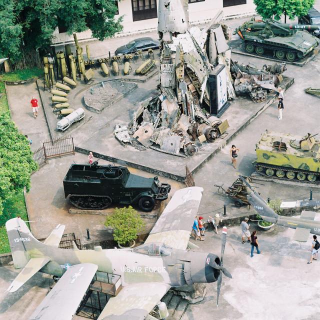 """Ha Noi war museum"" stock image"