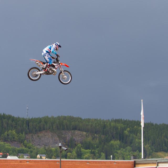 """Flying high"" stock image"