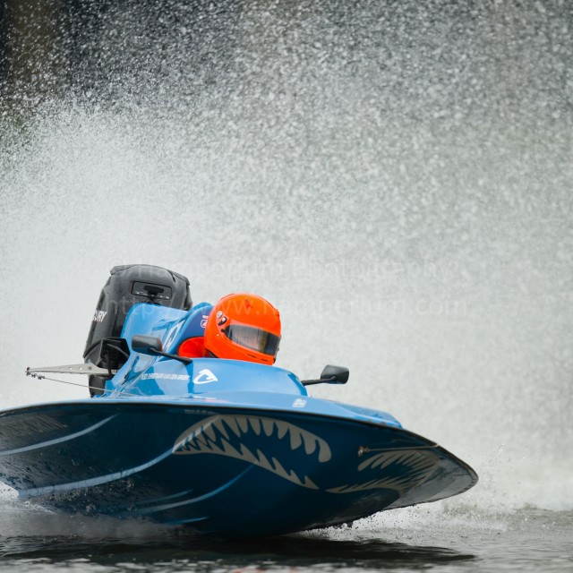 """Powerboat"" stock image"