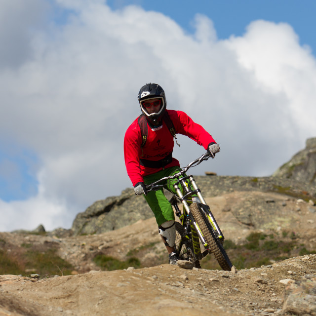 """Åre Bike Park"" stock image"