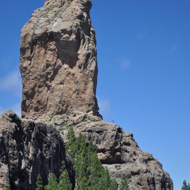 """Roque Nublo, Gran Canaria"" stock image"