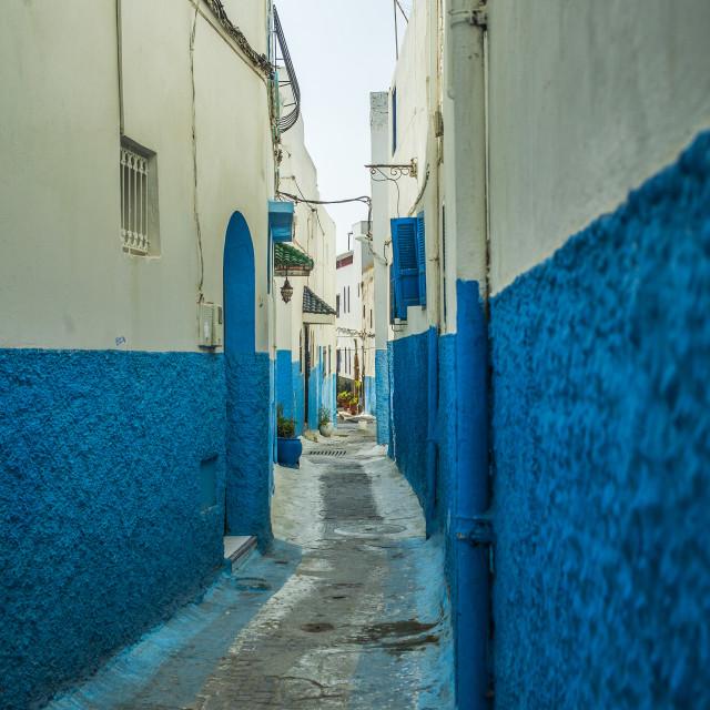 """""""Street in de medina"""" stock image"""