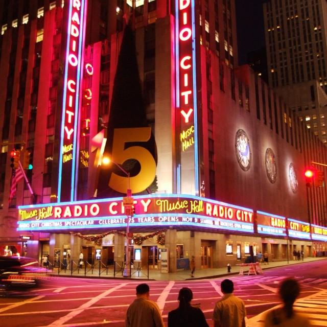 """""""Radio City"""" stock image"""