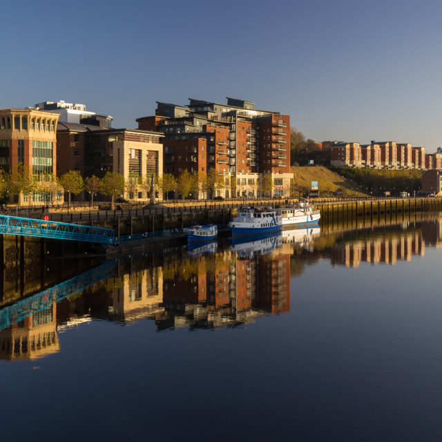 """Newcastle Riverside"" stock image"