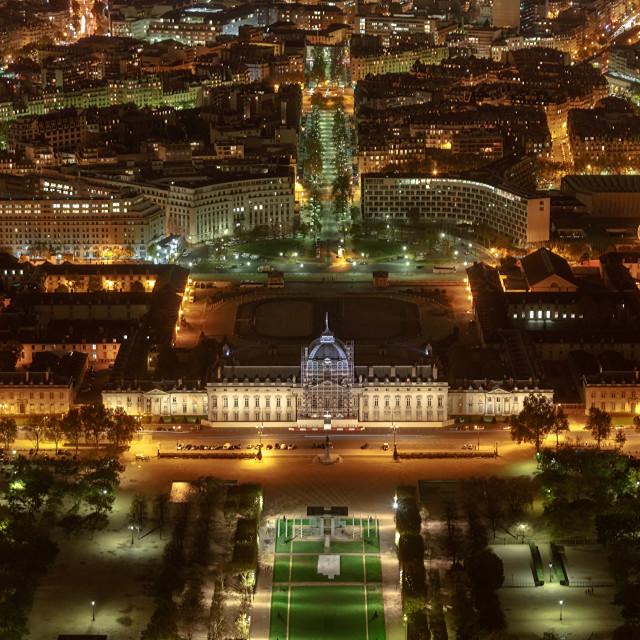 """""""Paris City Night View"""" stock image"""