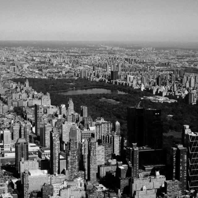 """""""Aerial Manhattan"""" stock image"""