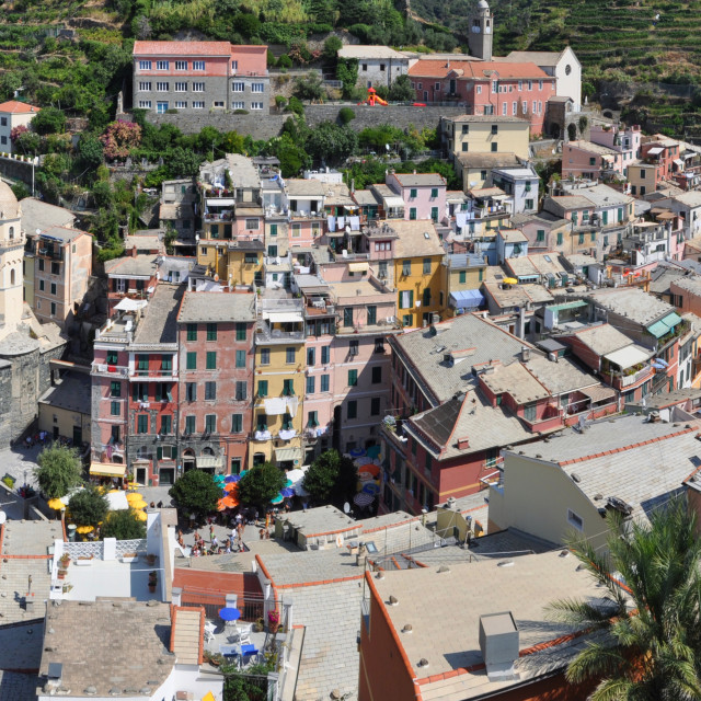 """Vernazza, Cinque Terre, Italy"" stock image"