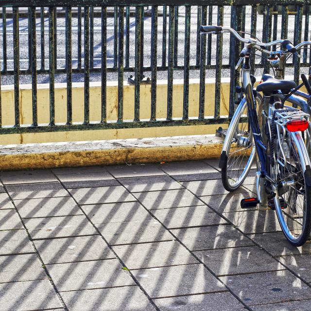 """Retro Bikes"" stock image"