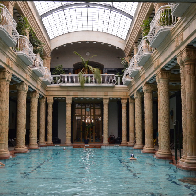 """""""Gellért Bath"""" stock image"""