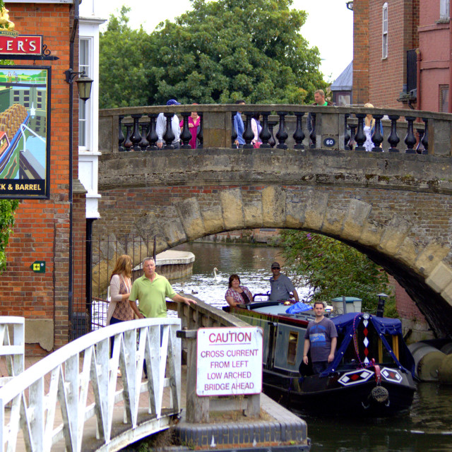 """""""Canal Life"""" stock image"""