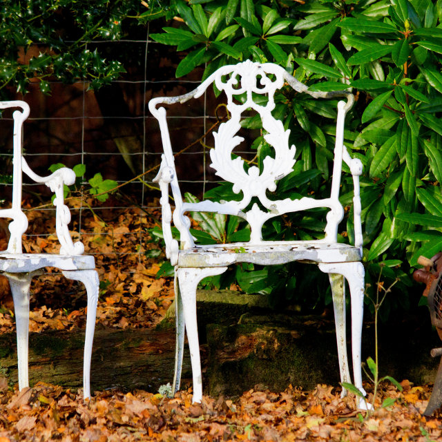 """""""Two Chairs"""" stock image"""