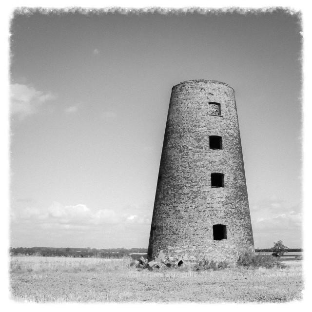 """The Mill at Appleton Roebuck"" stock image"