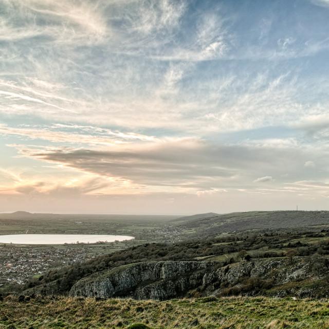 """""""Cheddar Reservoir"""" stock image"""