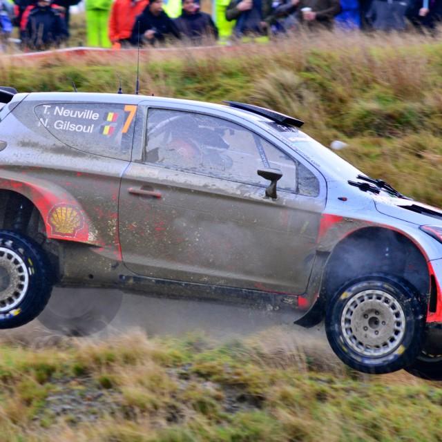 """WRC 2014 1"" stock image"