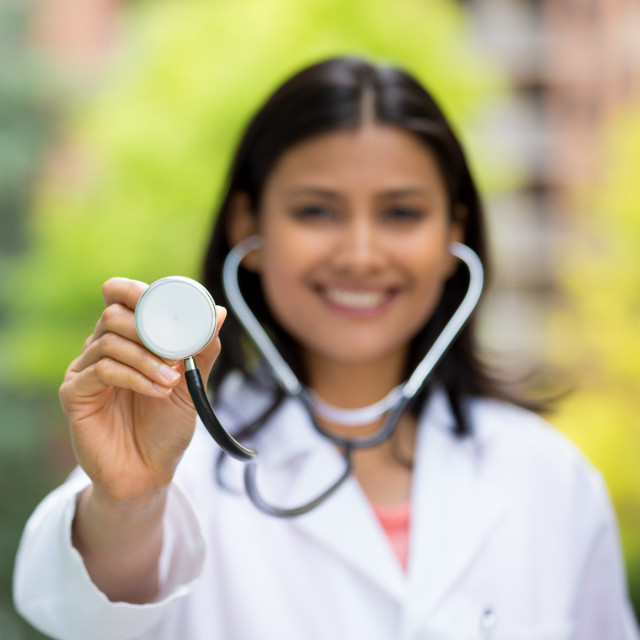 """""""Time for a checkup"""" stock image"""