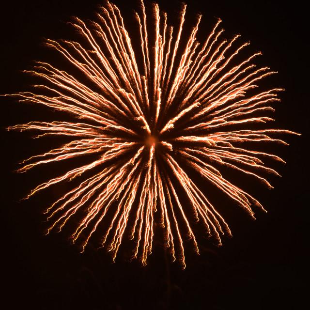 """Big Firework"" stock image"