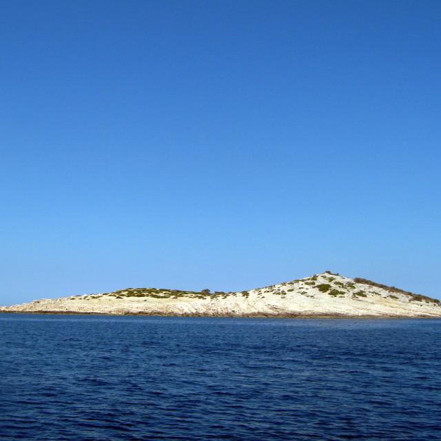 """""""little island"""" stock image"""