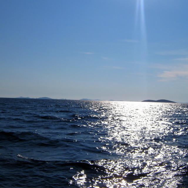 """Sea and sun"" stock image"