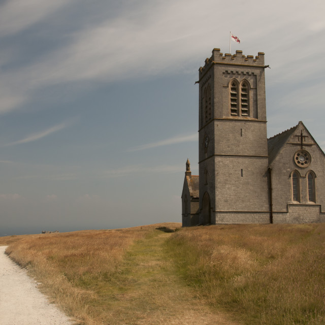 """St Helena Church"" stock image"