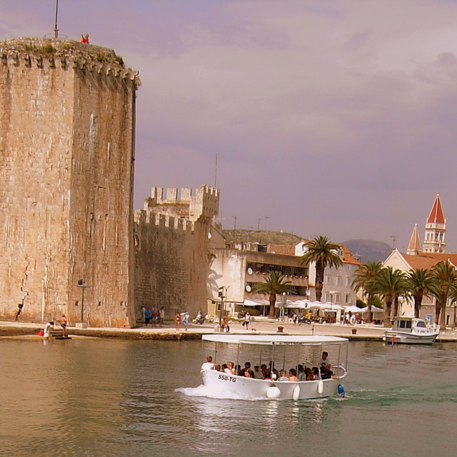 """Trogir Fort"" stock image"