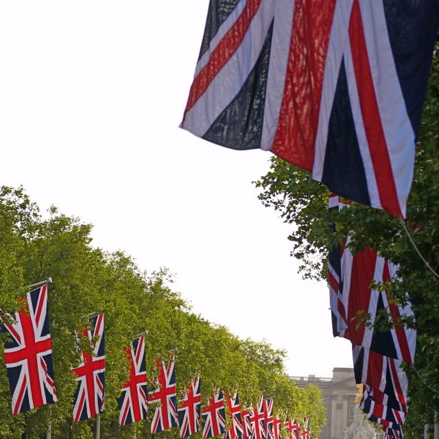 """Patriotic London"" stock image"