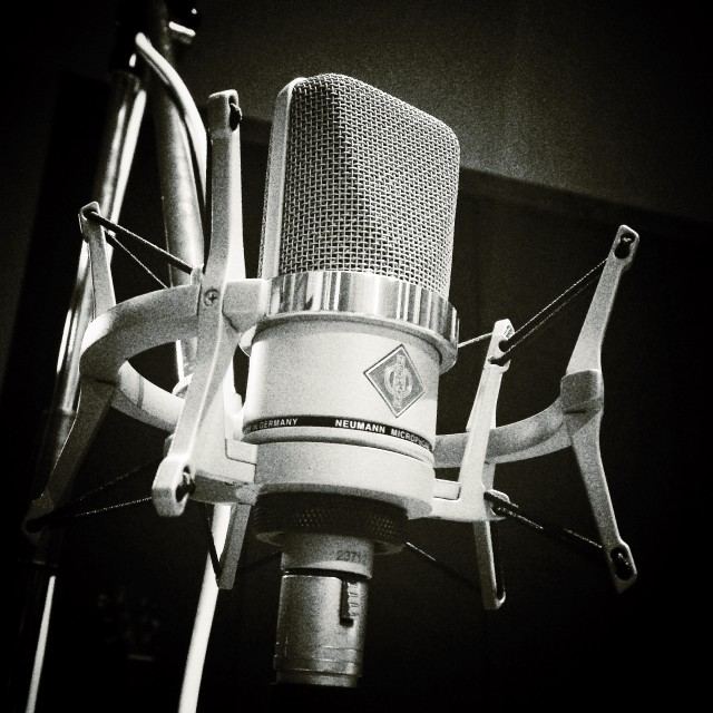 """Neumann microphone"" stock image"