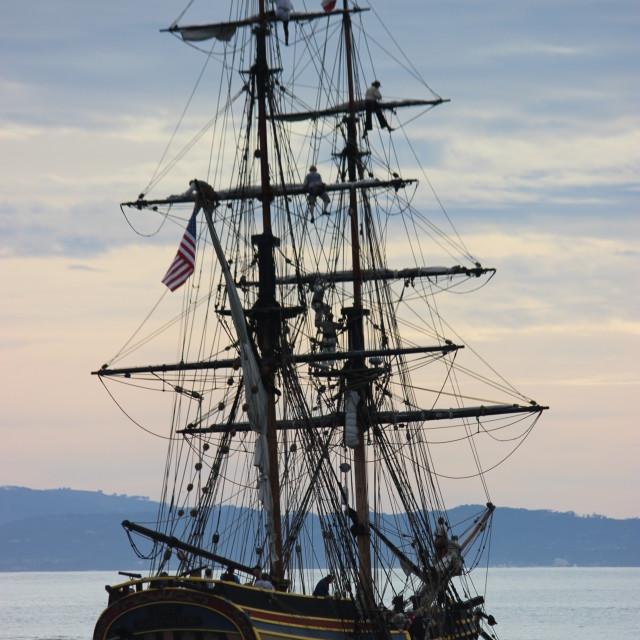 """""""Sail Away."""" stock image"""