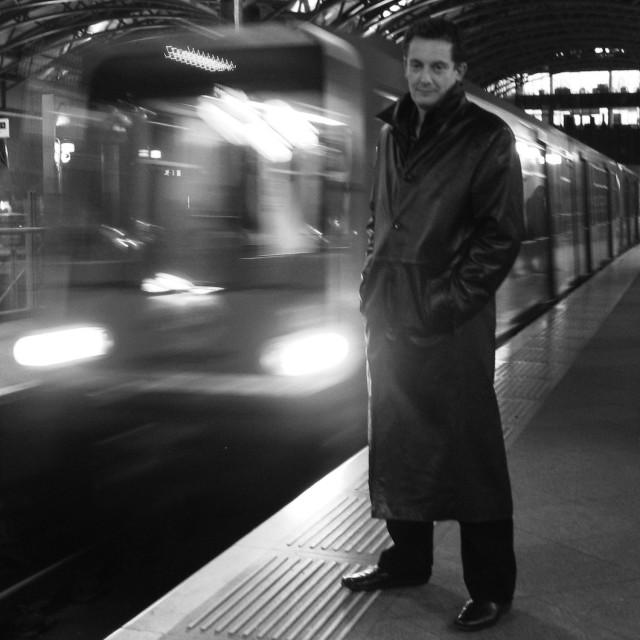 """Limehouse Station"" stock image"