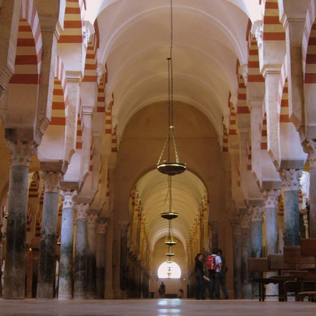 """Cordoba Mosque"" stock image"