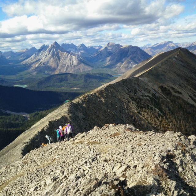 """""""Tent Ridge"""" stock image"""