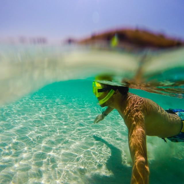"""Snorkel snorkel"" stock image"