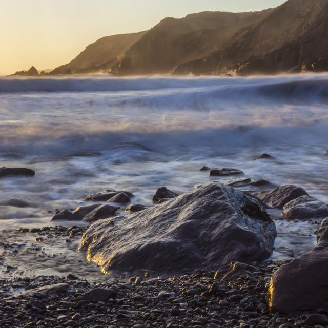 """Golden surf"" stock image"