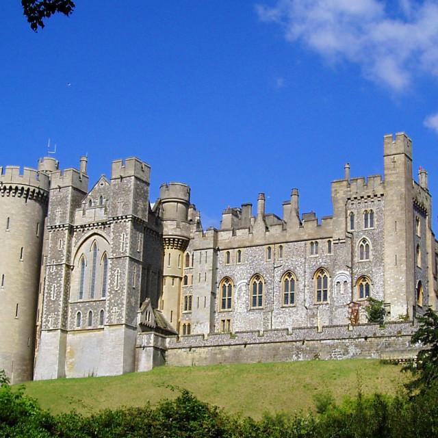 """Arundel Castle, West Sussex, England"" stock image"