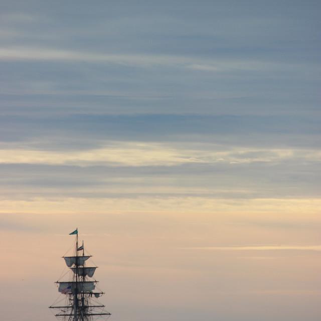 """Pirate Ship"" stock image"